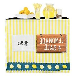 HIDEABOO - Lil' Biz Polyester Easy Lemonade Stand Card Table
