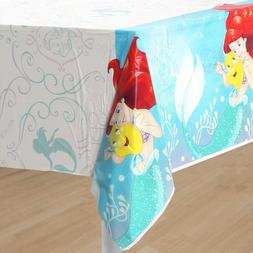 Little Mermaid Ariel 1X Plastic Table Cover Birthday Party S