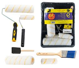 High Quality Long-Lasting Paint Brushes & Rollers Tray Set f