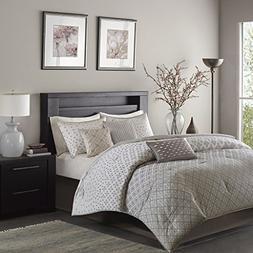 Madison Park 100 Percent Polyester Jacquard 7Pcs Comforter S