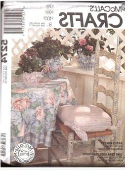 McCall's Crafts Pattern 5274--table cover,placemat,apron,cha