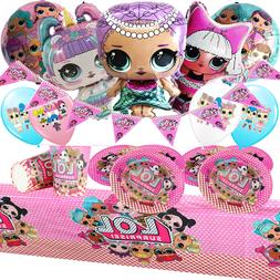 Merbaby LOL SURPRISE DOLL toppers Party Balloon cake Supplie