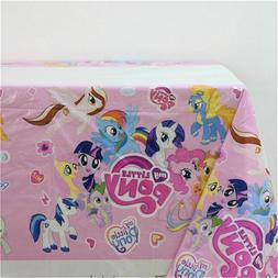 my little pony tablecloth table cover party