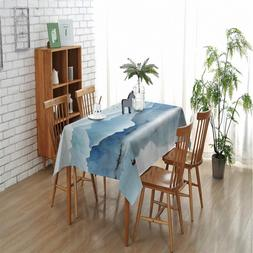 Nature Mountain Waterproof Oilproof <font><b>Table</b></font