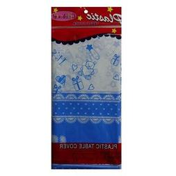 New 819474  Table Cover Its A Boy 54 X 108 Plastic  Party Cr
