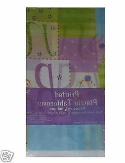 New Baby Patchwork Table Cover, Baby Shower Table Cloth Mom-