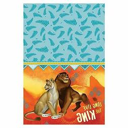 "New Lion King Movie Paper Tablecover 54"" X 96"" 1 ct."