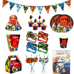 New Ninjago Ninja Kids Child Theme Party Supplies Balloon Fl