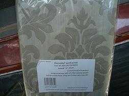 "NEW Strea Drop Tablecloth 70"" Round Laminet Cover Company Gr"