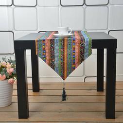 New Tassel Rectangle Cotton Tablecloth Square Bohemia Boho T