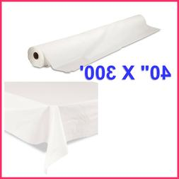 """Tablemate Bio-Degradable Plastic Table Cover, 40"""" x 300ft -"""