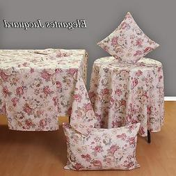 Noble Jacquard Roses Table runner Tablecloth Cushion cover H