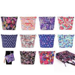 NWT Vera Bradley Villager Tote Bag Shoulder Bag In Various C