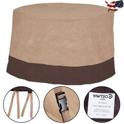 """Outdoor 48"""" Large Waterproof Patio Round Table Cover Furnitu"""