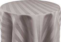 Bright Settings 54 x 96 Inch OVAL Tablecloth, Polystripe - U
