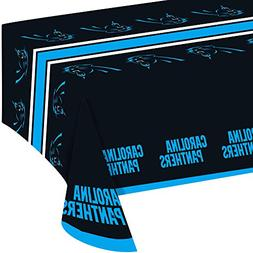 Creative Converting All Over Print Carolina Panthers Plastic