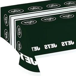 Creative Converting All Over Print New York Jets Plastic Ban