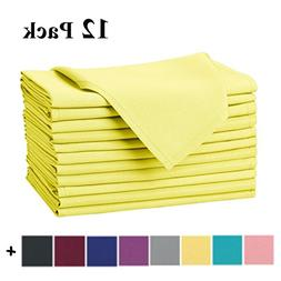 oversized polyester cloth napkins wedding