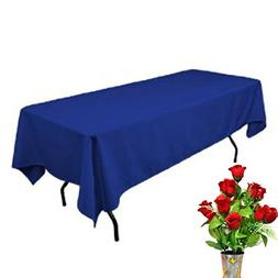 OWS Fitted Rectangle Polyester Table Cloth Tresale Table Cov