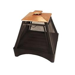 Catalina Creations Pagoda Style Outdoor Fireplace with Prote