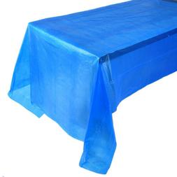 Party Birthday Table Cloth Disposable Plastic Table Cover Ou
