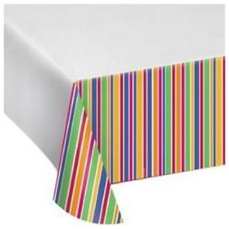 Creative Converting Party Stripes Dots Bright Colors Decorat