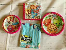 Shopkins Party Supplies Plates Napkins Table Covers Kids Bir