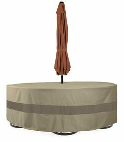 Patio Furniture Cover Waterproof Outdoor Garden Round Dining