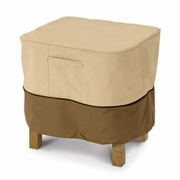 Veranda Collection Patio Ottoman and Table Cover Model 1 Squ