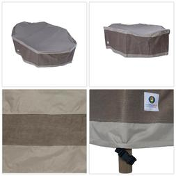 Patio Table Cover Outdoor Dining Water Proof Seamed Sealer T