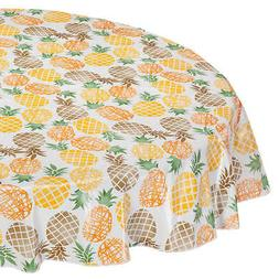 Pineapple Vinyl Table Cover by Home Style Kitchen