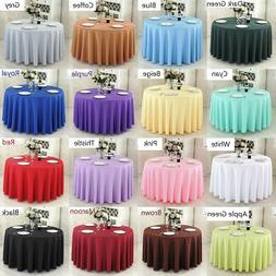 Plain Tablecloth Table Cover Cloth Banquet Wedding Cafes Rec