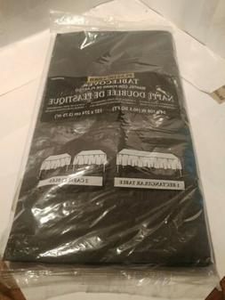 "Amscan Plastic Lined Table Cover 54""x108"""