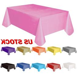 plastic table cover cloth table runners wipe