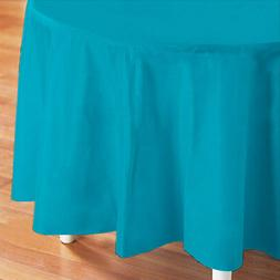 """Plastic Table Cover, 84"""" Round"""