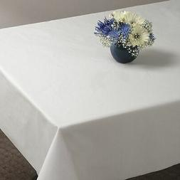 Hoffmaster Plastic Table Cover, White, None Length x NoneW W