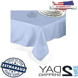 Plastic Tablecloth Protector Thick Durable Table Cover Cloth