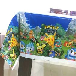 Pokemon Go disposable table cover,Party tableware,birthday p