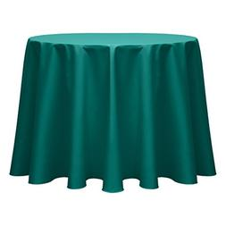 Ultimate Textile Poly-cotton Twill 60-Inch Round Tablecloth