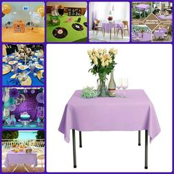 Polyester Table Cloth Indoor Outdoor Dining Tables Cover Sol