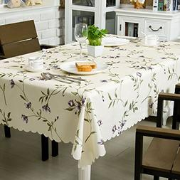 OstepDecor 100% Polyester Waterproof Tablecloth Banquet Wedd