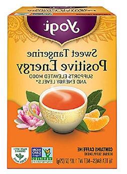 Positive Energy Tea Sweet Tangerine Yogi Teas 16 Bag