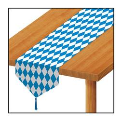 Printed Oktoberfest Table Runner Party Accessory