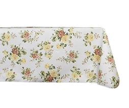 Yourtablecloth Printed Vinyl Tablecloth with Flannel Backing