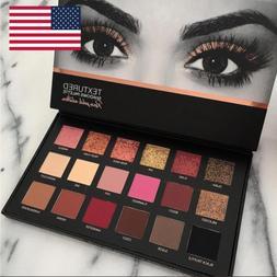 Pro 18 Colors Women Shimmer Matte Eyeshadow Pallete Waterpro