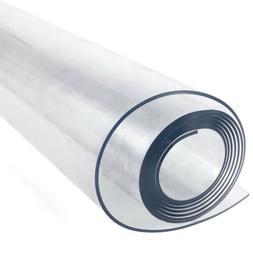 PVC 200cm Long Plastic Table Cover Desk Roll Sheet Protectio