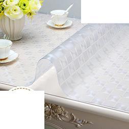 XKQWAN Pvc soft glass Waterproof Tv cabinet table-cloth shoe
