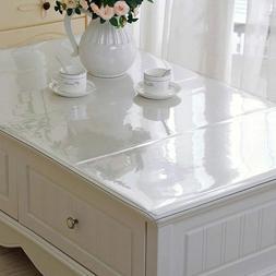 pvc table cover transparent desk pad glass