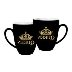 African American Expressions - Black and Gold Queen Mug  CHM