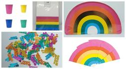 Rainbow Bright Party complete set kit for 8 plates napkins t